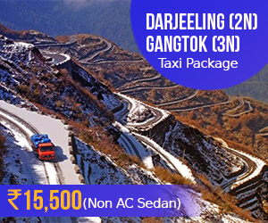 Darjeeling taxi package