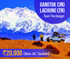 Gangok taxi package