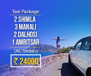 Himachal taxi package